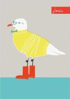 The only seagull i like! Cecil the Seagull Ceramic Animals, Sketch Inspiration, Pottery Painting, Watercolor Cards, Beach Art, Bird Art, Artist Art, Beautiful Artwork, Folk Art