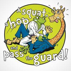 A squat, a hop and pass the guard - ZKS BJJ #frogguard #sketch #frog #sapo #gartista #bjj #bjjart #jiujitsu #artbygartista #bjjlogo #frog #froginagi #art #bjjartist #brazilianjiujitsu #greenandmean #bjjbadge #tshirt #独創的GA #cartoon #comicart #gi #kimono #cartoon #jitsart #bjjstyle #brazil #treefrog #amazon #jiujitero #character #characterdesign