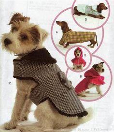 Free Dog Clothes Patterns Coat