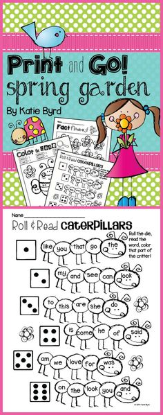 This best selling set of interactive practice pages covers a variety of math and literacy skills. Your students will have fun doing these for homework, morning work, or independent centers in your kindergarten classroom. As always, made to save your ink and more importantly, your TIME! Happy teaching! $