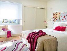 White Bedroom Apartment Decorating Ideas