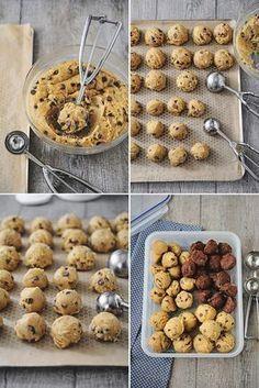 Cookie recipes 745838388259405280 - Cookies et astuces Plus Source by Thermomix Desserts, Köstliche Desserts, Desserts With Biscuits, Cookies Et Biscuits, Chefs, Food Inspiration, Sweet Recipes, Cookie Recipes, Cookie Tips