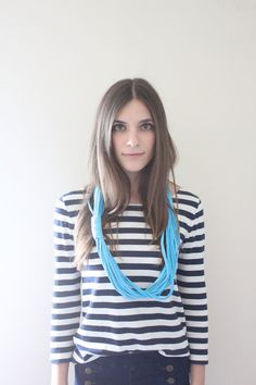 Jr. Ombre Infinity Scarf - Blue