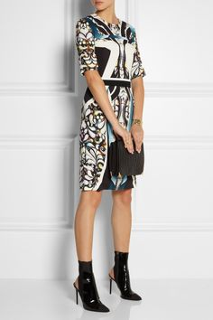Peter Pilotto | Eva printed stretch-crepe dress
