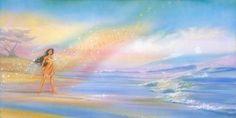 Pocahontas - Colors of the Wind -  Original - John Rowe - World-Wide-Art.com