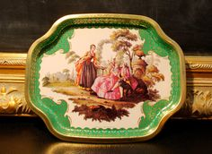 Elite Trays Versailles/Made in England by xyzvintage