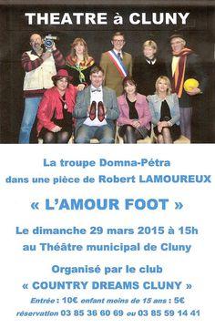 """""""L'amour foot"""" le dimanche 29 mars 2015 à Cluny."""