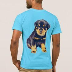#Rottweiler Puppy T-Shirt - #rottweiler #puppy #rottweilers #dog #dogs #pet #pets #cute