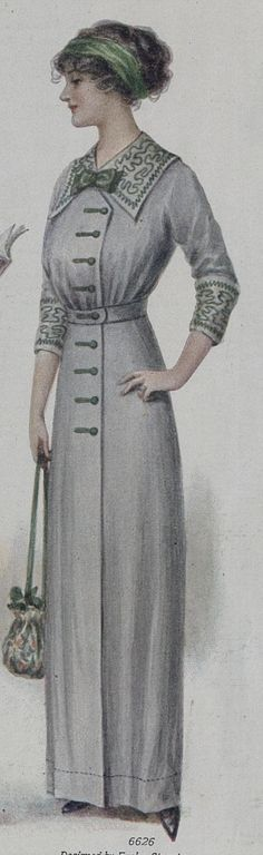 picture of 1912 dress