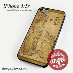 Game of Thrones Map Phone case for iPhone 4/4s/5/5c/5s/6/6 plus