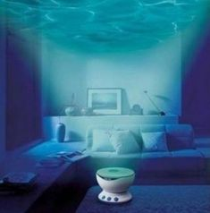 Calming Underwater Projectors - This Wave Projector Will Calm You Down and Lull You to Sleep (GALLERY)