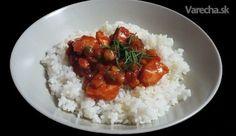 Kura na mexický spôsob (fotorecept) Chana Masala, Grains, Rice, Ethnic Recipes, Food, Box Lunches, Essen, Meals, Seeds