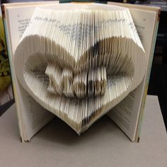 Mom in a Heart Folded Book Art Pattern PDF Free di Foldilocks