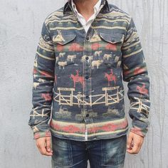 Men's Printed Pocket Button Jacket – joymanmall sweaters for men fashion sweaters for men winter sweaters for men cardigan Casual Blazer, Men Casual, Retro Fashion, Mens Fashion, Fashion Trends, Fashion Outfits, Floral Jacket, Corduroy Jacket, Print Jacket