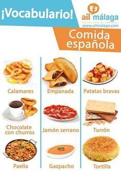 Comida española                                                                                                                                                                                 Mais