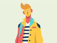 Boy alt. by Ricky Linn #Design Popular #Dribbble #shots