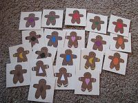 Gingerbread preschool activities