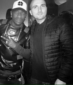 Mamadou niang pose pour Trotti