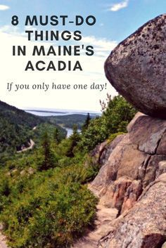 maine, travel, outdoors, nature, fun, activities, acadia national park, national parks, usa