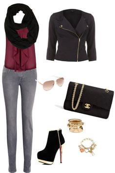 """plum"" by theboxoffashion on Polyvore"