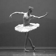 Former Royal Winnipeg Ballet Dancer Vanessa Lawson (1997-2013) in The Sleeping Beauty, May 2005.