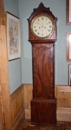 Antiques Atlas - Scottish Long Case Clock Circa 1815