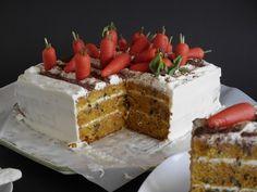 Rübli-Torte mit Mascarpone