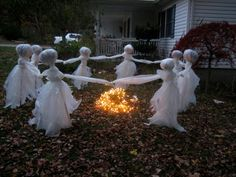 Ghosts Dancing Around a Fire