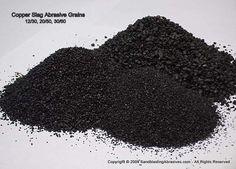 Black Copper Slag