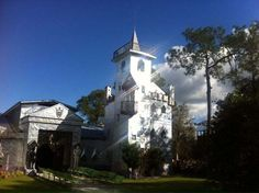 Solomon's Castle in FL, handmade from aluminium printing press plates.