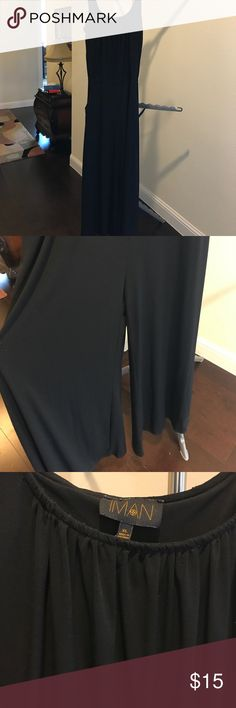 Black Jumpsuit Black Jumpsuit in gently used condition in a smoke free/ pet free home. Pants Jumpsuits & Rompers