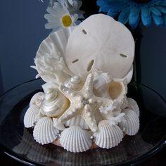 Seashell Wedding Cake Topper