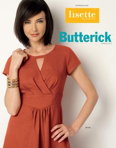 We're pleased to announce that Lisette patterns are now available from Butterick. We're introducing the line with four new patterns for Spring 2015.