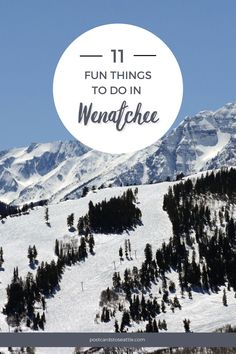 11 fun things to do in wenatchee washington. This gem of a town will offer you a genuinely unique experience that you can add to your Washington State bucket list. Here are all the things to do in Wenatchee, WA, that are not to be missed on your next visit. #washington #traveltips