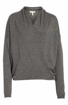 Joie Lien Faux Wrap Sweater