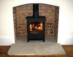 Terrific No Cost freestanding Fireplace Hearth Strategies Fotheringhay Woodburners for wood & multifuel stoves, installation & service, Wood Burner Fireplace, Fireplace Hearth, Fireplace Ideas, Hearth Stone, Brick Hearth, Slate Hearth, Freestanding Fireplace, Small Fireplace, Bathroom