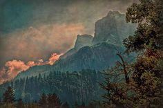 Misty Mountain by Hanny Heim #mountain
