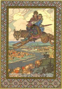 Boris Zvorykin - Firebird and other Russian Fairy Tales