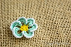 Ravelry: Mini Flower Applique by Happy Patty Crochet