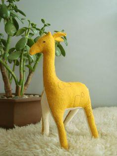 RESERVED preguillotined giraffe. by ohalbatross on Etsy