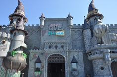 Castle of Chaos - Located behind the Hollywood Wax Museum in Pigeon Forge, Tennessee