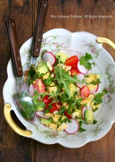 Summer Harvest Salad on Rice