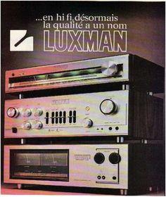 l′age d′or de la haute fidélité ,Luxman
