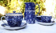 Burleigh Blue Calico China