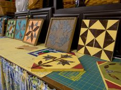 Learn How to Make a Quilt Block From Steel and Wood >> http://blog.diynetwork.com/maderemade/how-to/materials-mix-make-a-quilt-block-from-repurposed-steel-and-wood/?soc=pinterest