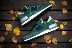 #NewBalance 990 Green Blue #Sneakers