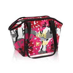 Lunch Break Thermal in Bold Bloom for $25 - This thermal is the perfect size to fit standard food storage containers, meaning it's a great lunch bag for work, school or just a day spent running around town. It also makes a great snack and drink bag. Via @thirtyonegifts