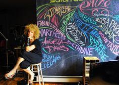 wall of inspirational women #art