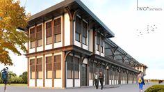 Ankara Keçiören parkı hizmet birimleri Mimari projesi,projenin iç mekan tasarımları ve Mimari Görselleştirme   Mimar Tuna Bayram Ekiz Mimar Gürkan Turan   İki artı tasarım mimarlık a.ş.  Twoplus #architecture #mimari #mimarlık #mimar