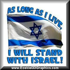 God said Israel was the apple of His eye. The U.S must support her.